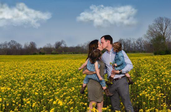 St Louis family photo Scott AFB