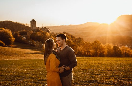 Kusel castle sunset location family photos